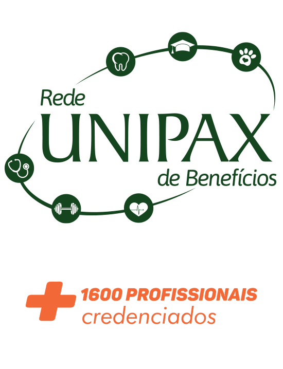 Rede Unipax de Benefícios, mais de 1600 profissionais cadastrados